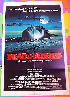 Dead And Buried - Rare Original Us One Sheet Poster