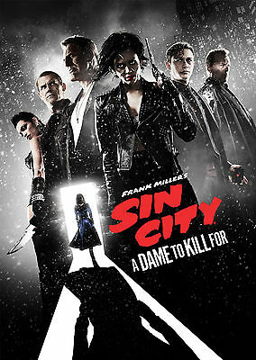 Sin City: A Dame to die for (2014) V6 - A1/A2 POSTER *BUY ANY 2 AND GET 1 FREE*