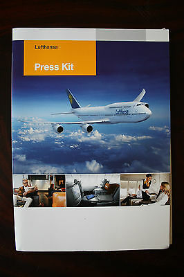 Official Press Kit Lufthansa Introduction Of Boeing 747-8 Intercontinental