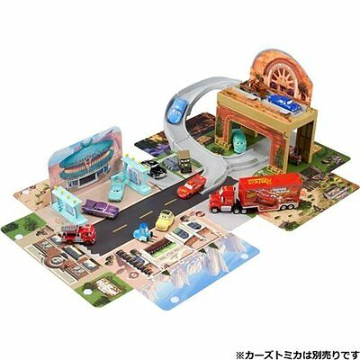 Takara Tomy Tomica Disney Pixar Cars Big Radiator Springs Playset Japan Toys
