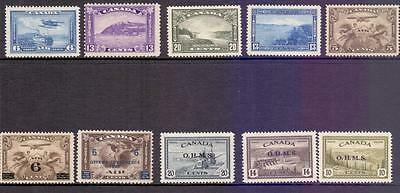 Canada  - A MINT Collection of Key Values Fine and Fresh Stamps