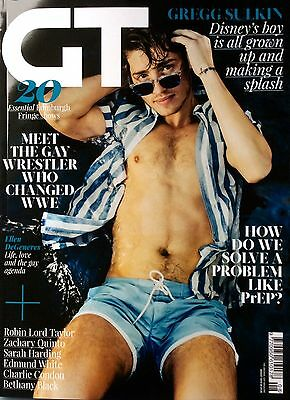 GT Magazine Issue 462 August 2016 *Gay Gaytimes Attitude