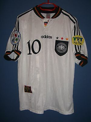 original Spielertrikot Nationalteam DFB Deutschland Hässler Euro 1996 matchworn