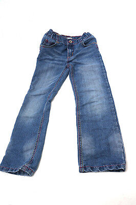 M&S straight leg jeans indigo collection  age 6 - 7 years