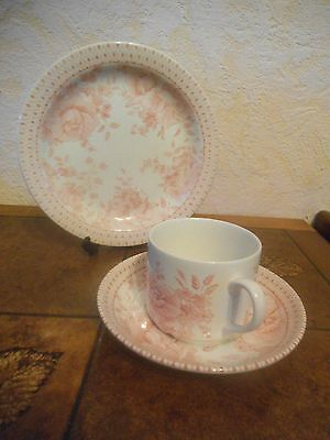 "WADE ~ CHINTZ "" Trio ""  CUP SAUCER & SIDE PLATE VGC"