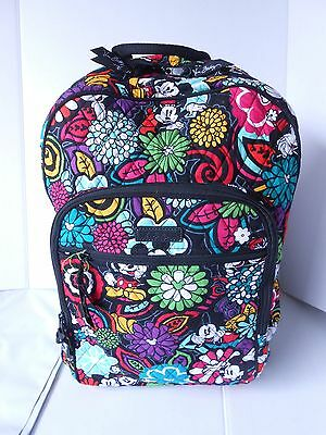 New With Tags  Vera Bradley Magical Blooms Disney  Campus Backpack