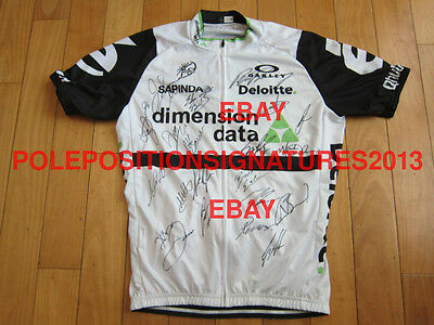 2016 TEAM DIMENSION DATA team signed CYCLING Jersey Cavendish TOUR DE FRANCE