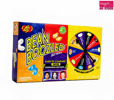 Jelly Belly Bean Boozled Spinner Wheel 4th Edition Game Challenge 357g