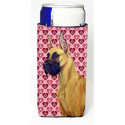 Great Dane Hearts Love And Valentines Day Portrait Michelob Ultra s For Slim ...
