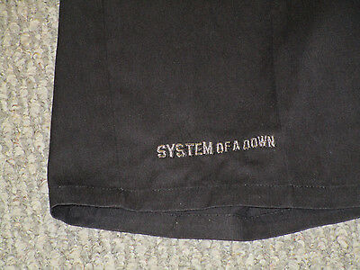 System Of A Down 2001 Promo Dickies Shorts RARE heavy death metal slipknot korn