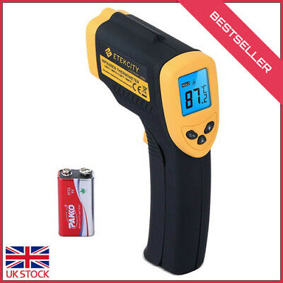 Etekcity Lasergrip 1080 Non-contact Digital Laser IR Infrared Thermometer, -50°