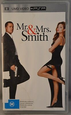 Mr. & Mrs. Smith: UMD Video (Sony PSP, M)