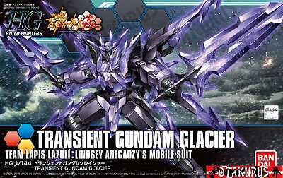 Transient Gundam Glacier HGBF Build Fighters Scale 1/144 Model Bandai Japan
