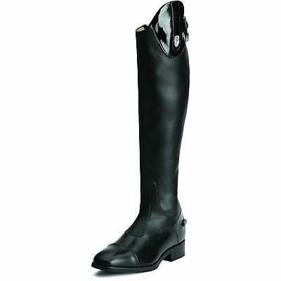 ARIAT - Women's Monaco Stretch Tall Zip Boot - Black - ( 10014381 ) - New