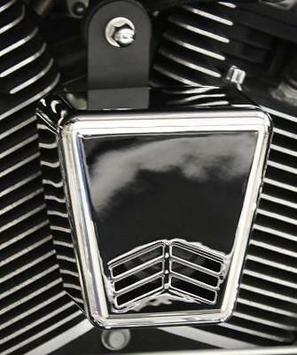 Custom Dynamics Chrome Mini Beast V Air Horn for Harley Touring Softail Dyna