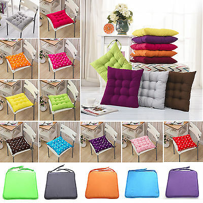 Indoor Outdoor Dining Gardens Patio Home Kitchen Office Chair Seat Pads Cushions
