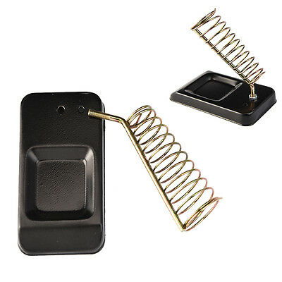 Metal Rectangle Solder Iron Stand Holder Soldering Iron Safety Protecting Base