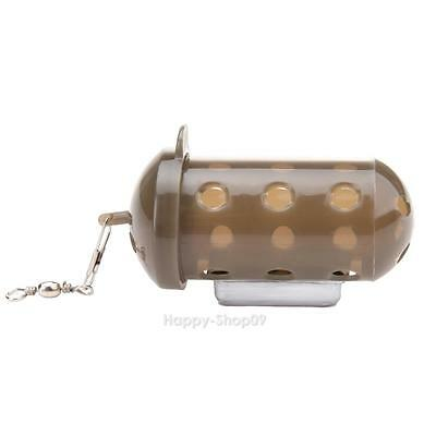 Carp Fishing Feeder Bait Cage Lure Pit Device with Lead Pellet v#h9