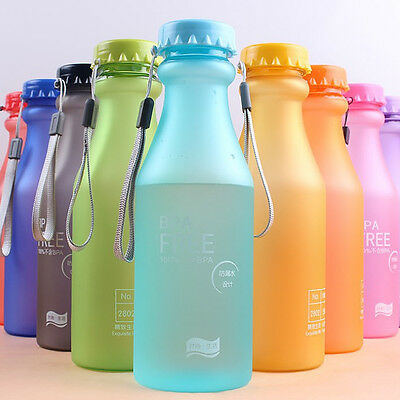 Unbreakable Portable Leak-proof Sports Travel Water Bottle Cycling Camping Cup