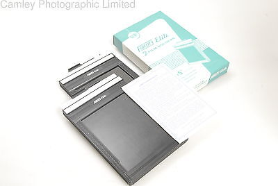 Pair of Boxed 4×5 Fidelity Elite Film Holders DDs. Condition – 3E [5351]