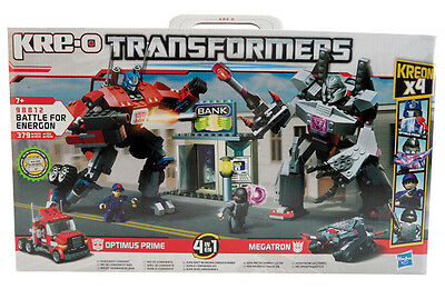 Hasbro Kre-O 98812 Transformers Battle for Energon, Optimus Prime VS Megatron