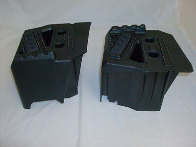 """Sportsman Passenger 7"""" Foot Risers Tall High Footrests 06-13 X2 500 800 Touring"""