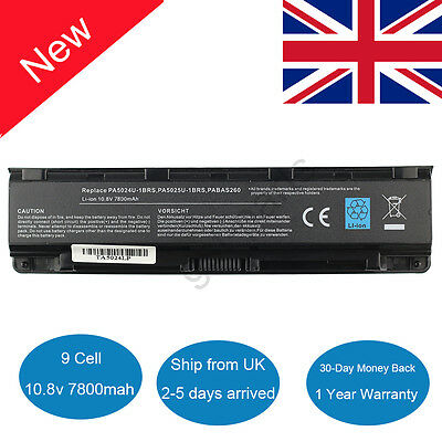 9 cell Battery For Toshiba Satellite PRO C850 L850 L870 M800 Laptop PA5024U-1BRS