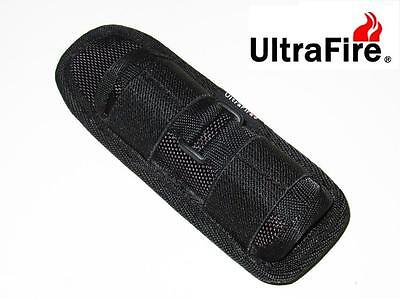 New Ultrafire 402 v2 360 Rotate Holster Pouch flashlight torch holster