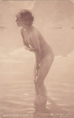 Paul CHABAS: Nude girl , September Morn , June 1912