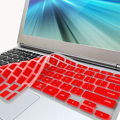 FORITO Red Keyboard Cover Skin for Samsung ARM 11.6'' Chromebook 3 XE303C12