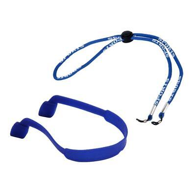 Kids Silicone Glasses Neck Band Cord & Adult Adjustable Sunglasses Strap