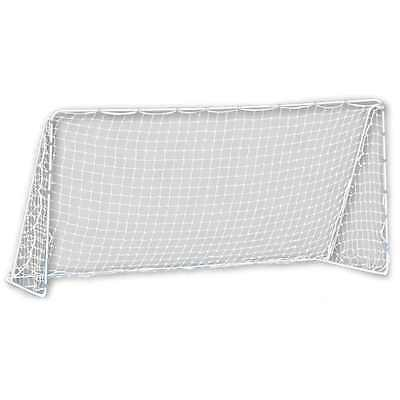 Sports Competition Soccer Goal 12x6 Foot Net Galvanized Steel Frame Quick Ball 5
