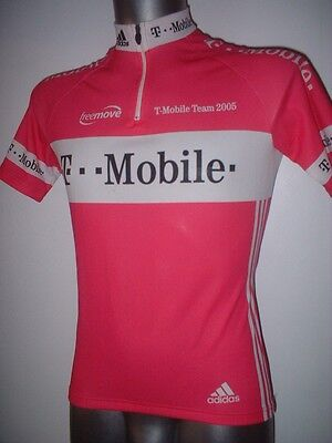 T-Mobile Adidas Cycle Cycling Shirt Jersey Adult Small Trikot Ciclismo Maglia