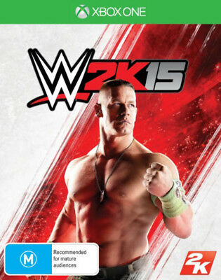 Xbox One WWE 2K15 Wrestling Brand New Australian Stock