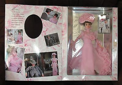 Exquisite Eliza Dolittle 1996 My Fair Lady Barbie In Pink Organza Gown Mib