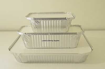 Foil Container Catering Aluminium Food Take Away Box - No2  6A  9X9