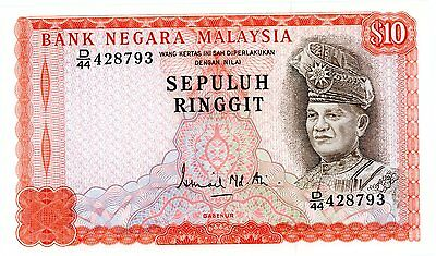 Malaysia … P-15 … 10 Ringgit … ND(1976-81) … *UNC* ... Ai sign.