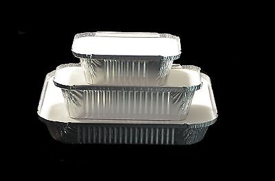 Catering Aluminium Foil Food Container No2  6A  9X9 - Take Away Box