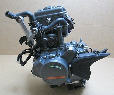 KTM DUKE 125 2016 / 20 MILES FROM NEW ONLY Complete engine
