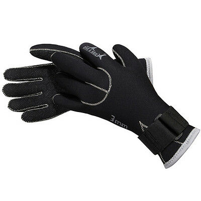3MM Diving Gloves Equipment Wetsuit Surfing Snorkeling Winter Swimming 2016 SWTG