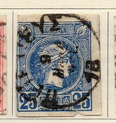 Greece 1886-99 Early Issue Fine Used 25l. 109486