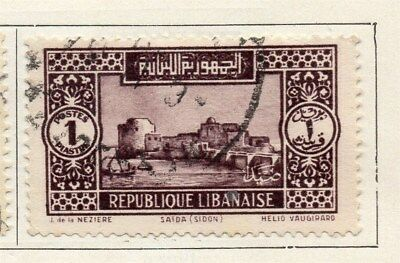 Great Lebanon 1931 Early Issue Fine Used 1p. 109510