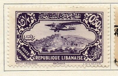Great Lebanon 1931 Early Issue Fine Mint Hinged 50p. 109514