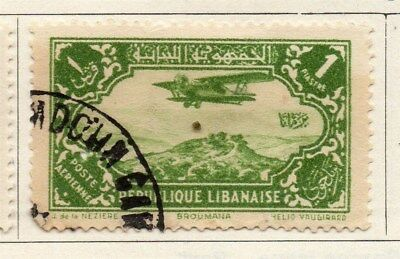 Great Lebanon 1931 Early Issue Fine Used 1p. 109515