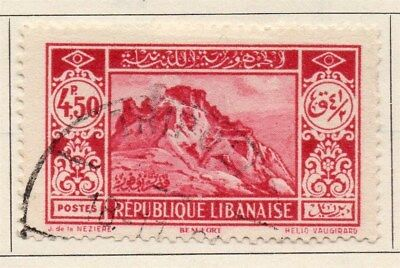 Great Lebanon 1930 Early Issue Fine Used 4.50p. 109523