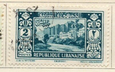 Great Lebanon 1931 Early Issue Fine Used 2p. 109548