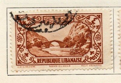Great Lebanon 1930 Early Issue Fine Used 4p. 109567