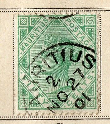 Mauritius 1879-80 Early Issue Fine Used 50c. 109724