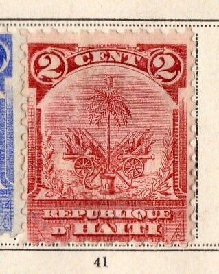 Haiti 1898 Early Issue Fine Mint Hinged 2c. 109799
