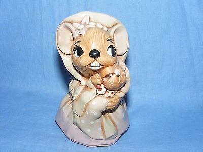 Pendelfin Stoneware Brown Mother Mouse Made In Burnley England